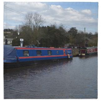 Narrowboats Napkin
