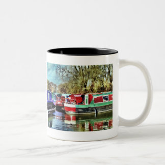 NARROWBOATS Two-Tone COFFEE MUG