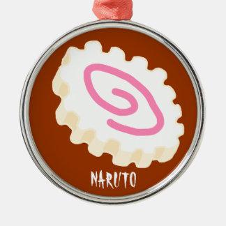 NARUTO Silver-Colored ROUND DECORATION