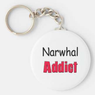 Narwhal Addict Key Ring
