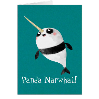 Narwhal and Panda in One Card