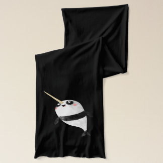 Narwhal and Panda in One Scarf