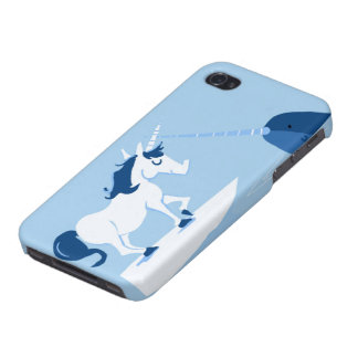 Narwhal and Unicorn Case For The iPhone 4