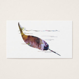 Narwhal Art Business Card