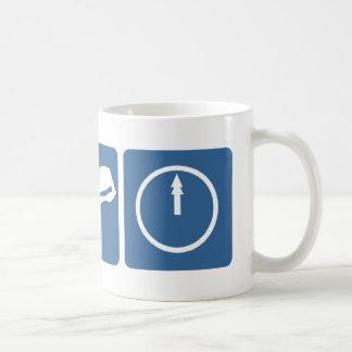 Narwhal - Bacon - Midnight Basic White Mug