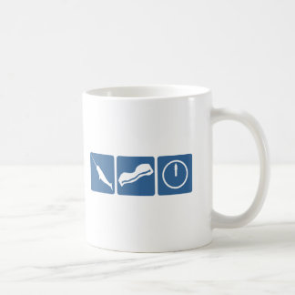 Narwhal - Bacon - Midnight Coffee Mugs