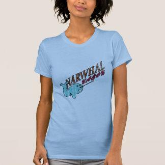 Narwhal Bacon Retro Logo T-Shirt