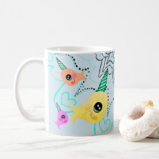 Narwhal Coffee Tea Mug Cup