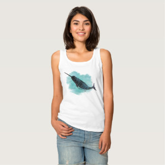 Narwhal Heart Tank Top