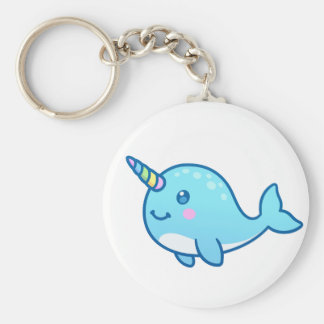 Narwhal Key Ring