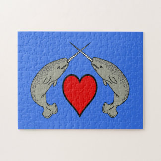 Narwhal Love Jigsaw Puzzle