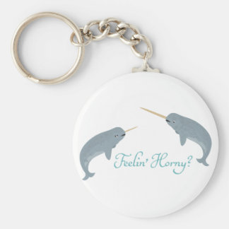 Narwhal Love Key Ring