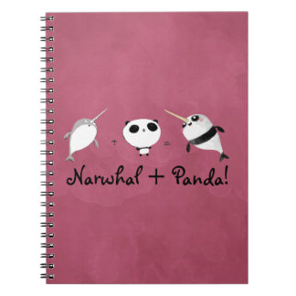 Narwhal plus Panda! Notebook