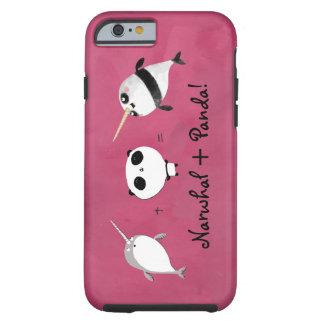 Narwhal plus Panda! Tough iPhone 6 Case
