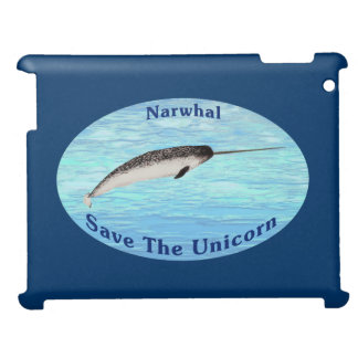 Narwhal - Save The Unicorn Cover For The iPad