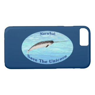 Narwhal - Save The Unicorn iPhone 7 Case
