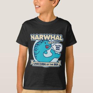 bb890f89f Narwhal T-Shirts & Shirt Designs | Zazzle UK