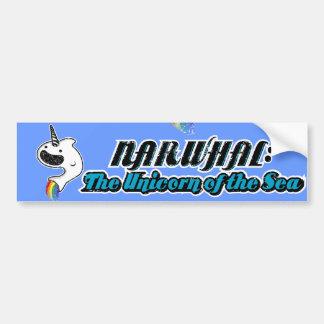 Narwhal:The Unicorn of the Sea Bumper Sticker
