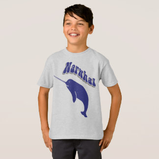 Narwhal Unicorn Cute Funny Cartoon T-shirt