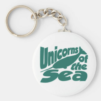 Narwhal Unicorn of the Sea Key Ring