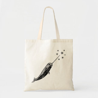 Narwhal, Unicorn of the Sea tote bag