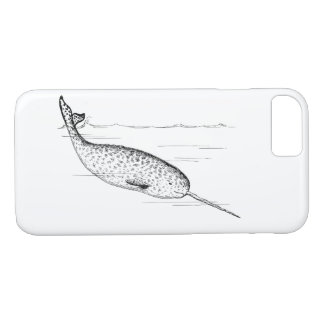 Narwhal Whale Unicorn of the Sea iPhone 8/7 Case