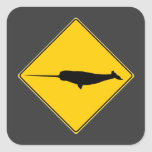 Narwhal X-ing Sign Stickers