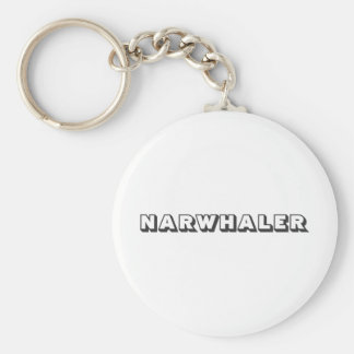Narwhaler Logo Key Ring