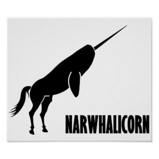 Narwhalicorn Narwhal Unicorn Posters