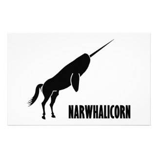 Narwhalicorn Narwhal Unicorn Stationery
