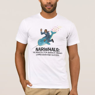 Narwhals for Obama T-Shirt