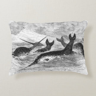 Narwhals Pillow