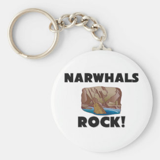 Narwhals Rock Key Ring