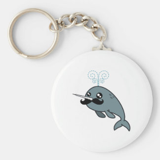 Narwhalstache Key Ring