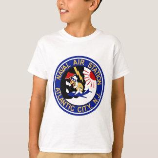 NAS Atlanta City Military Patch Naval Air Station T-shirt