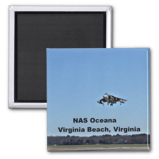 NAS Oceana, Virginia Beach, Virginia Square Magnet