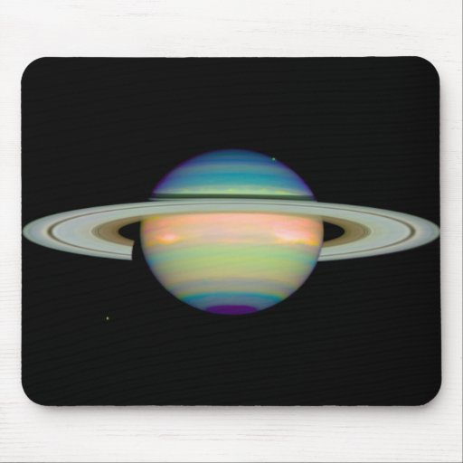 NASA - An Infrared View of Saturn Mouse Pads