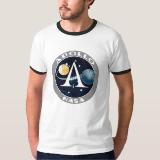 NASA Apollo 11 Ringer T-shirt