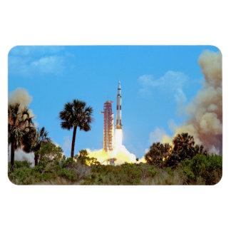 NASA Apollo 16 Saturn V Rocket Launch Magnet