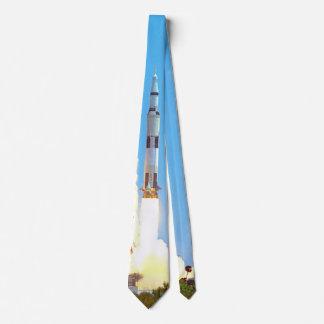 NASA Apollo 16 Saturn V Rocket Launch Tie