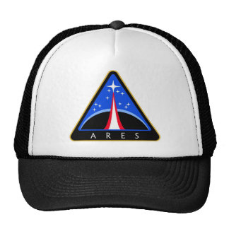 NASA Ares Rocket Logo Cap