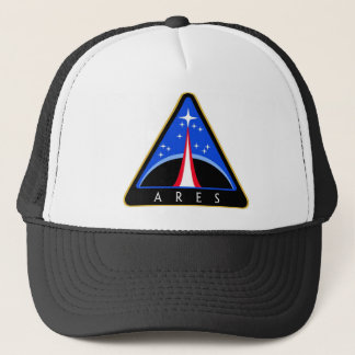 NASA Ares Rocket Logo Trucker Hat