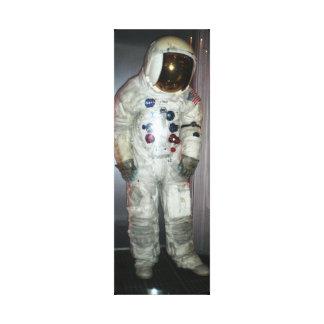 NASA Astronaut Space Suit Canvas Print