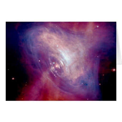 NASA Chandra Crab Nebula Cards