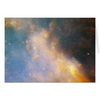 NASA - Close-Up of M27 - the Dumbbell Nebula Card