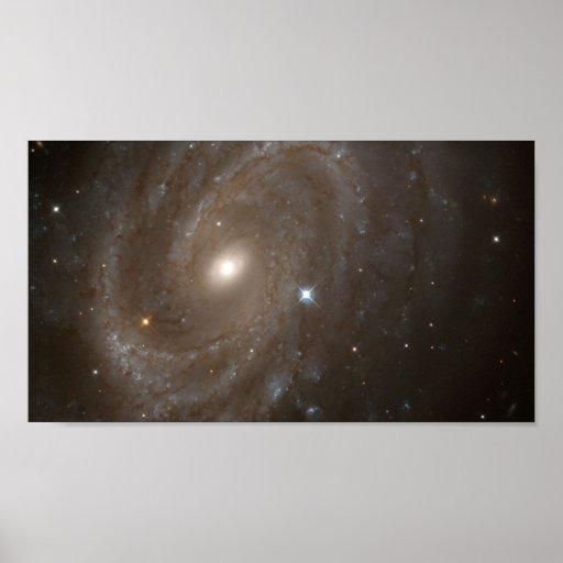 NASA - Distant Spiral Galaxy NGC4603 Portfolio Poster