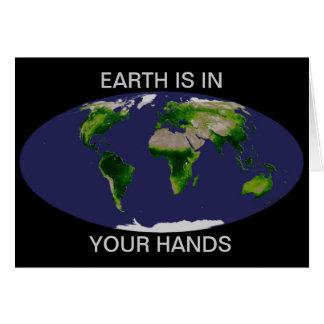 NASA Earth day Greeting Card
