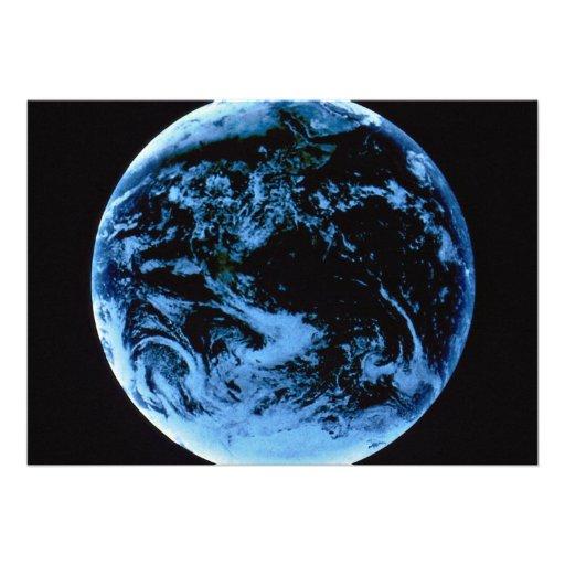 NASA Earth in space Invite