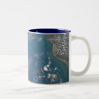NASA Earth Limb taken by Space Shuttle Columbia Two-Tone Coffee Mug