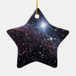 NASA ESA Veil nebula Ceramic Star Decoration